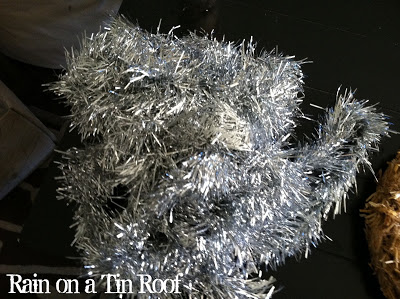 How to Make a Tinsel Wreath