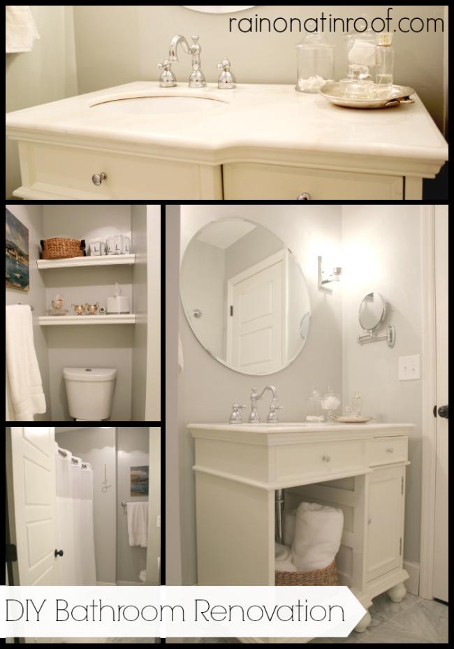 Bathroom renovation on a budget for Cheap small bathroom renovations
