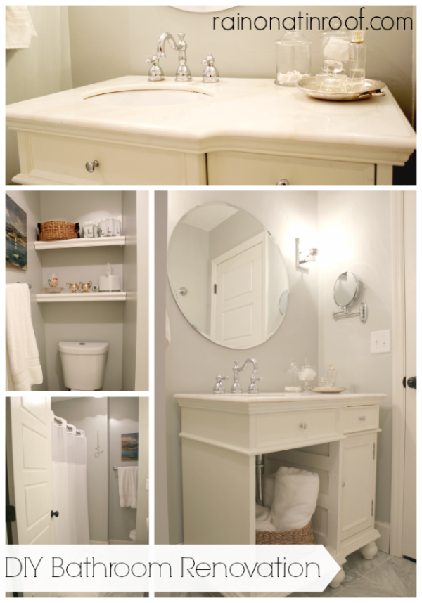 Bathroom Renovation On A Budget - How to remodel a bathroom yourself on a budget