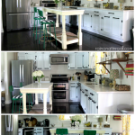 Kitchen Reveal {rainonatinroof.com} #makeover #kitchen #tour #reveal