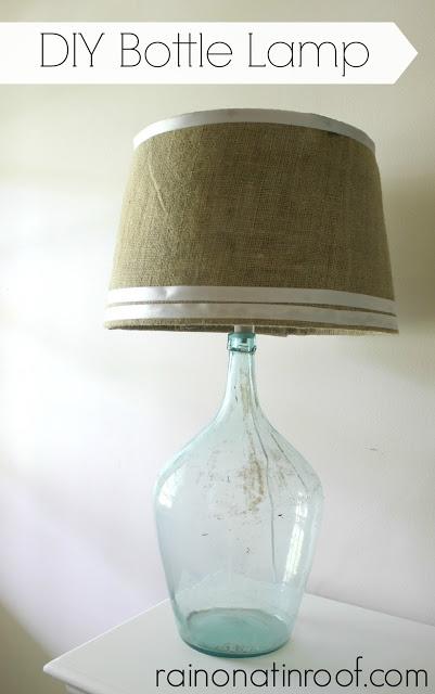 Make a bottle lamp.