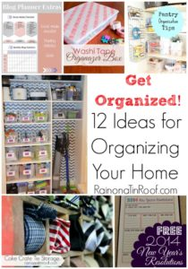 12 Ideas for Organizing Your Home