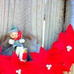 Vintage Elf Christmas Wreath via rainonatinroof.com #blogherholidays #christmas #holidays #wreath
