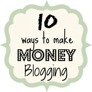 10 Ways to Make Money Blogging {rainonatinroof.com} #blogging #money