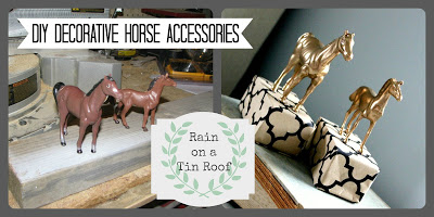 Make your own DIY horse home accessories.