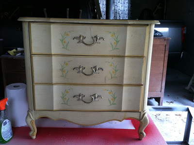 French Country Chest Before