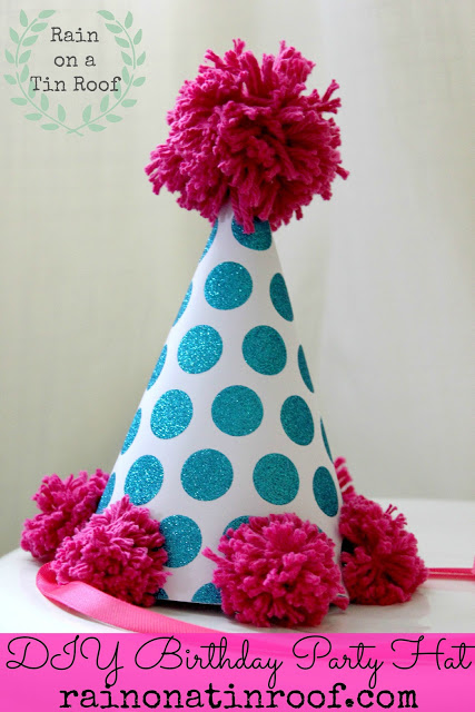 How to Make a Birthday Hat | Easy Birthday Party Hat DIY | Birthday Party Hat Ideas | DIY Party Hats | DIY Party Ideas | Kid's Party Ideas