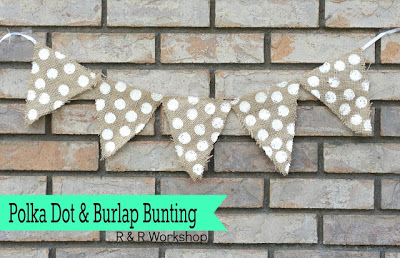 Simple Crafts Anyone Can Do: Polka Dot Bunting