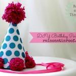 DIY Birthday Hat {rainonatinroof.com}