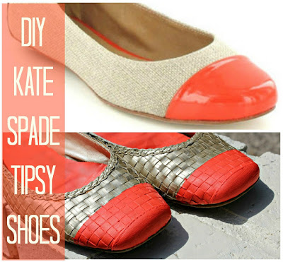 Kate Spade Inspired Shoe Makeover