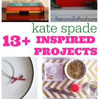 13 {Inspired by} Kate Spade DIY Projects