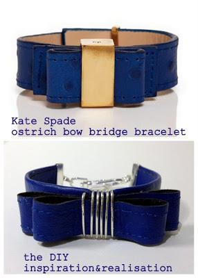 Kate Spade Inspired Knockoff Bracelet