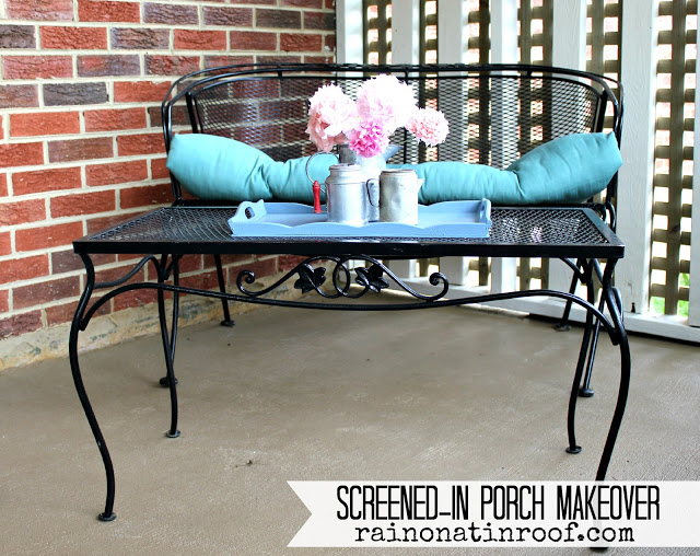 Screened In Porch Makeover