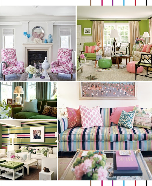 Lilly Pulitzer Inspired Decorating
