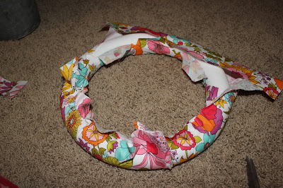 DIY Lilly Pulitzer Inspired Wreath