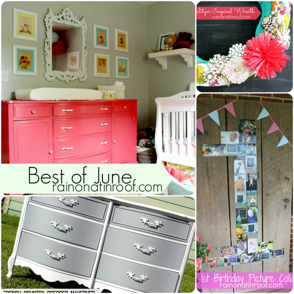 Best of June {rainonatinroof.com} #roundup