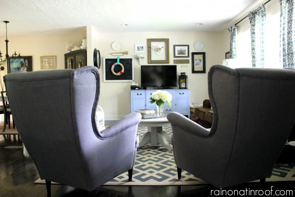 Renovated Rancher House Tour {rainonatinroof.com} #hometour