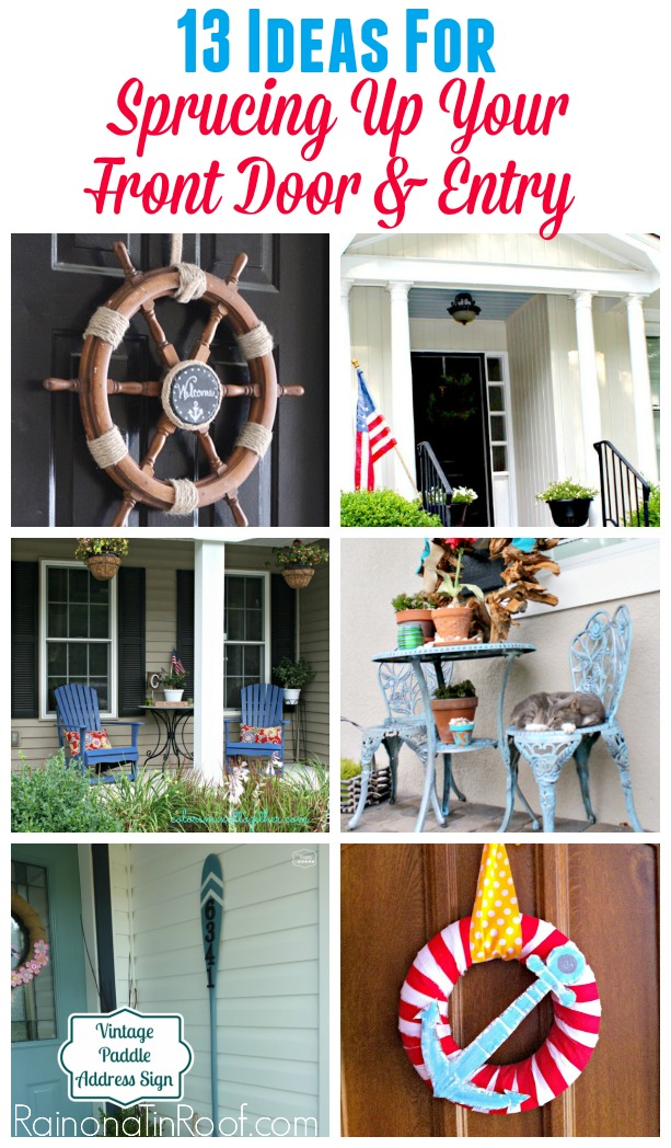13 Ideas for Sprucing-Up Your Front Door & Entry