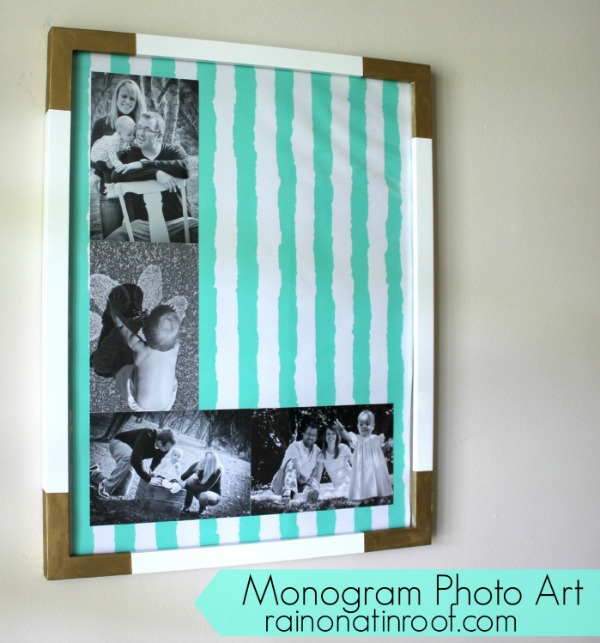 monogram photo art