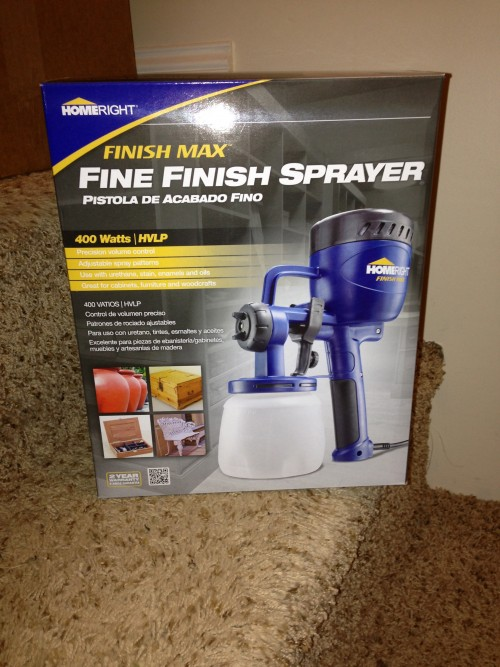 HomeRight Finish Max Paint Sprayer Review {rainonatinroof.com}