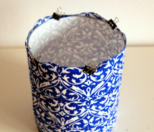 DIY Lampshade Kit Giveaway {rainonatinroof.com}