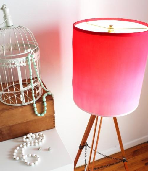 DIY Lampshade Kit Giveaway {rainonatinroof.com}