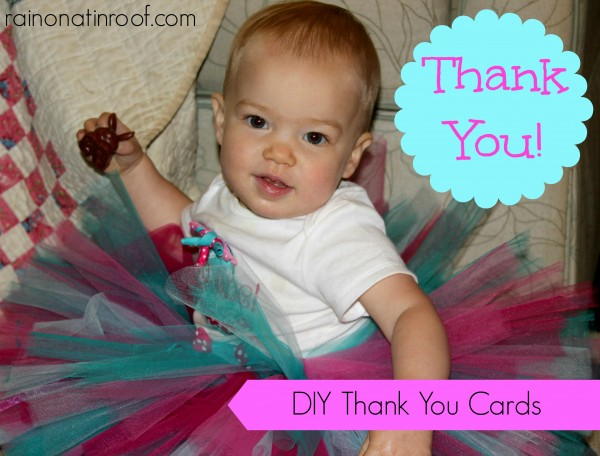 DIY Thank You Cards with PicMonkey (Using the Free Features)