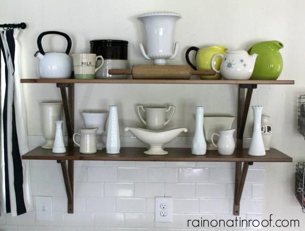 Kitchen Tour {rainonatinroof.com} #kitchen