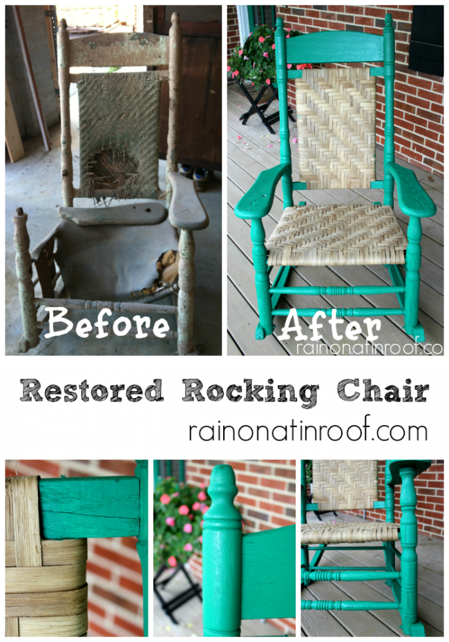 Restored Rocking Chair - 100 Year Old Restored Rocking Chair