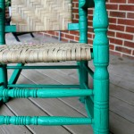 Rocking Chair Restoration {rainonatinroof.com} #rockingchair