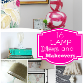 DIY Lamp Ideas and DIY Lampshade Ideas