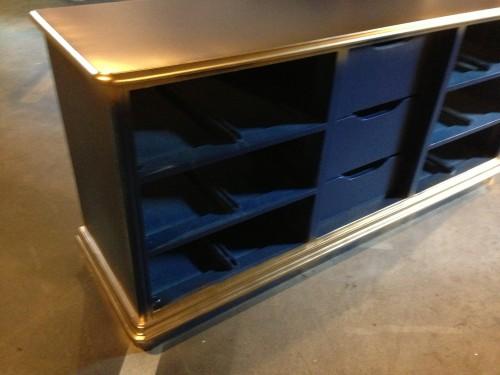 Dresser turned Buffet {rainonatinroof.com} #furnituremakeover #diy