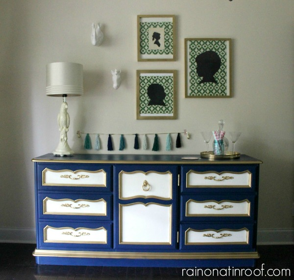 Dresser Turned Buffet Furnituremakeover Diy