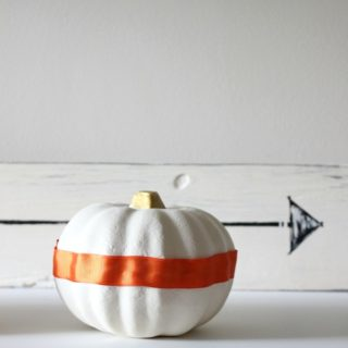 Dollar Tree Pumpkins Upcycle {rainonatinroof.com} #upcycle #dollartree #pumpkins