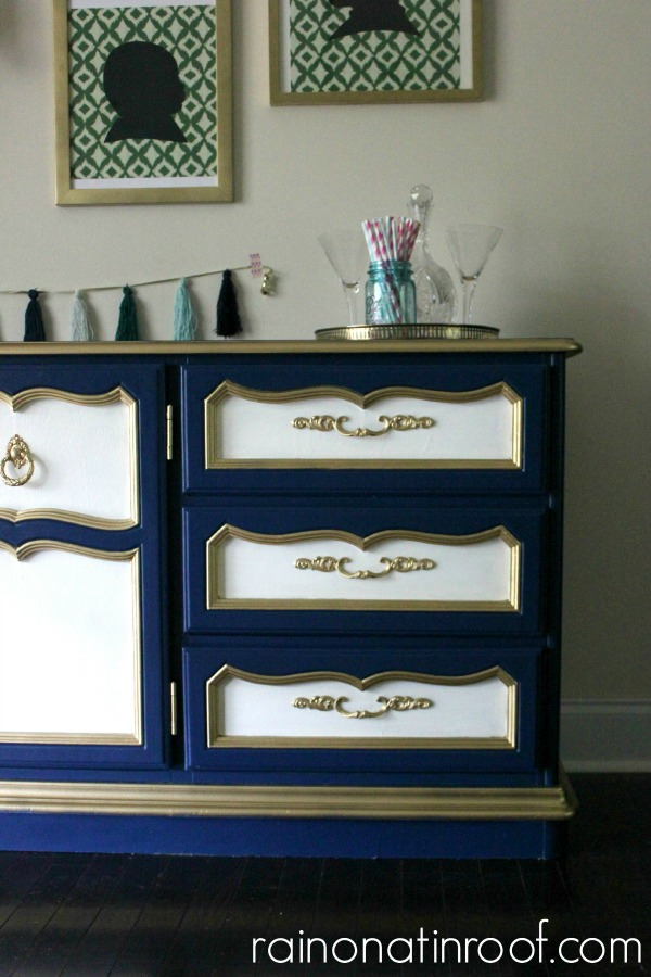 salvaged dresser blue paint hill co belle inspirations buffet dixie giveaway bunker