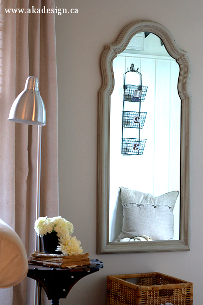 French Finish Mirror from AKA Design