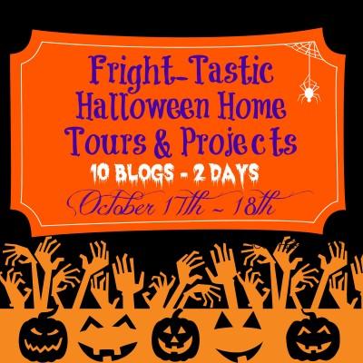 Halloween Home Tours {rainonatinroof.com}
