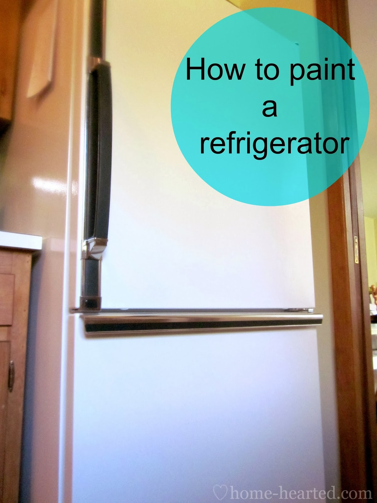 How to Paint a Refrigerator Easily
