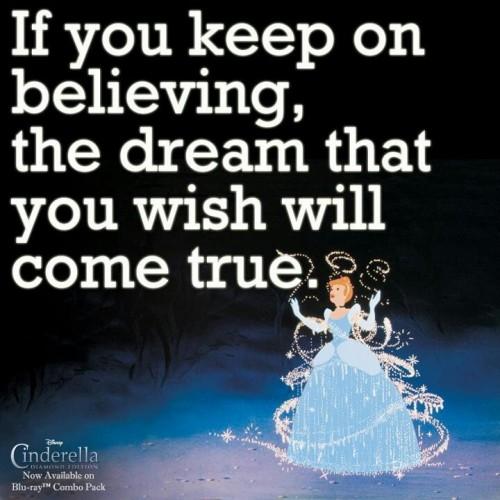 Sometimes Dreams Really Do Come True {rainonatinroof.com}