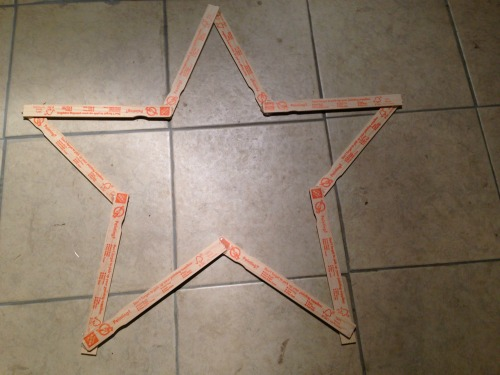 DIY Paint Stick Star