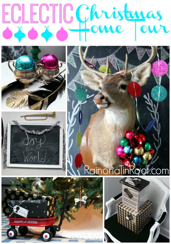 An Eclectic Christmas Home Tour {Part 2}