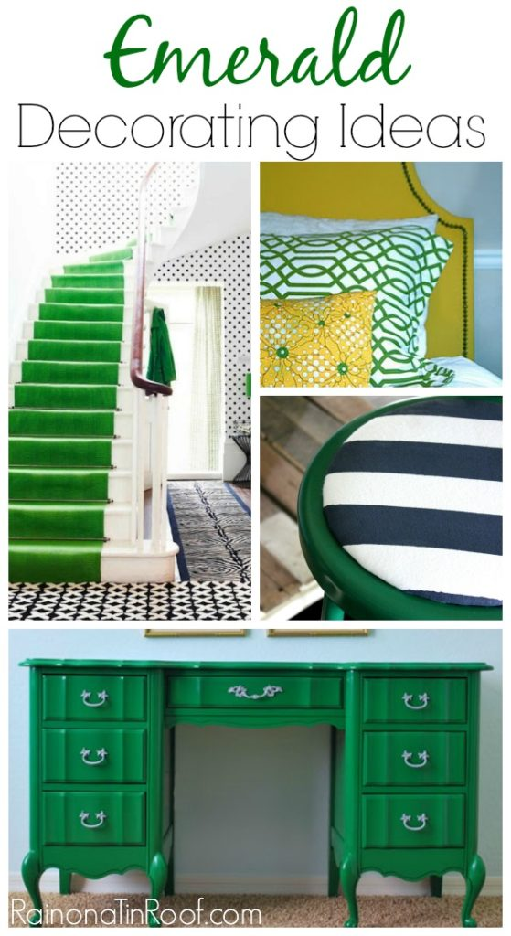 Emerald Green Decorating Ideas
