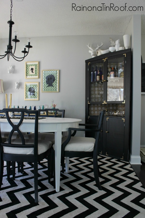Repose Gray Walls + The Easiest Way to Paint a Room via RainonaTinRoof.com #homeright #paintstickeztwist #reposegray