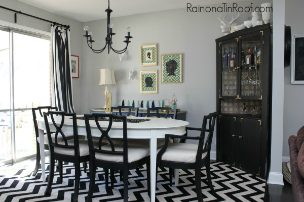 Gray Walls in the Dining Room