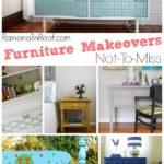 Furniture Makeovers Not to Miss via RainonaTinRoof.com