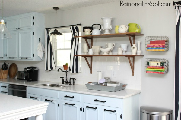 Repose Gray Walls + The Easiest Way To Paint A Room Via RainonaTinRoof.com #