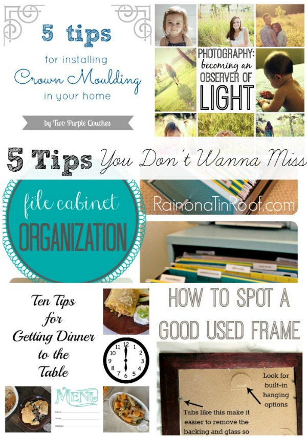 Tips You Don't Wanna Miss + GMTG #50 + $100 HomeGoods Gift Card GIVEAWAY