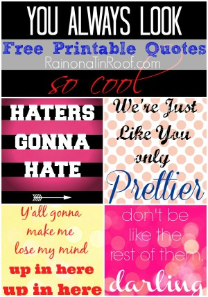 sidebar free printable quotes