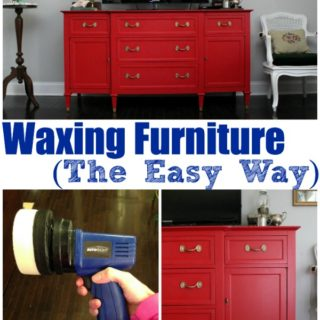 Waxing Furniture {The Easy Way}