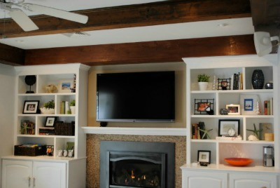 Living Room Built-Ins